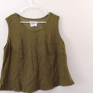FLAX Sleeveless top